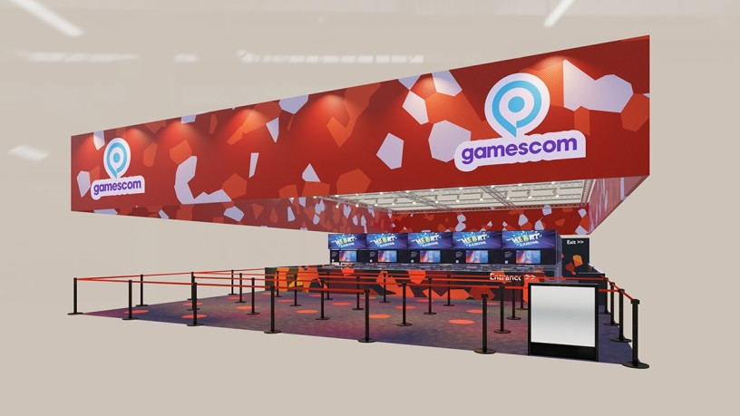 Complete stand package gamescom