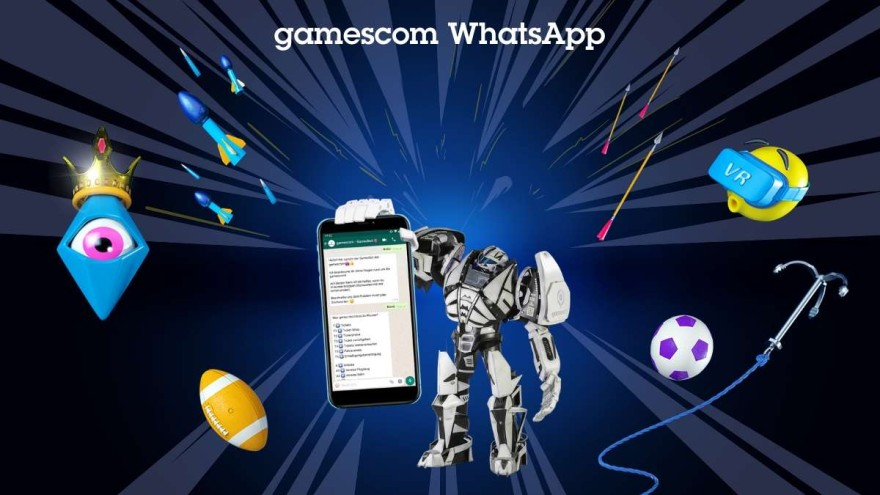 gamescom WhatsApp Chatbot