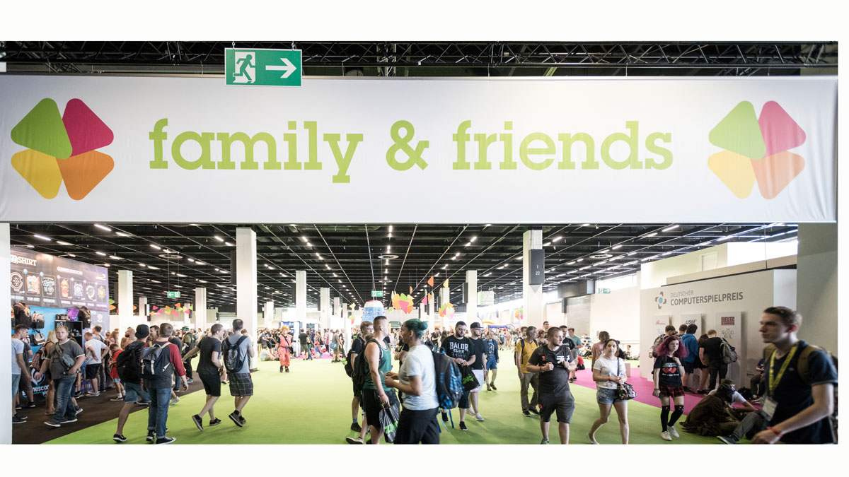 gamescom 2018: gaming and fun for the whole family