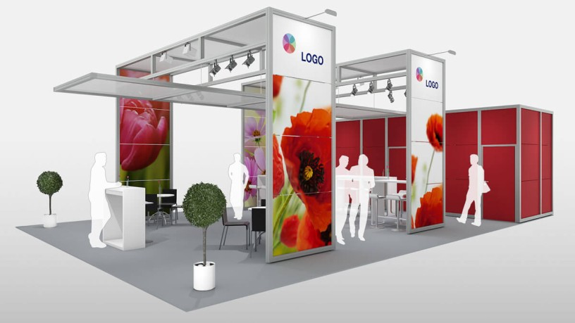 Stand construction: unlimited possibilities with the stand construction concepts of Koelnmesse