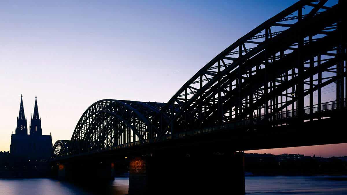 Most heavily used railway bridge in Germany.