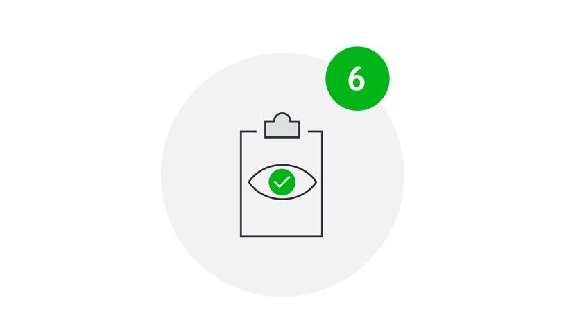 Meet Safe Icon Stringente Kontrolle