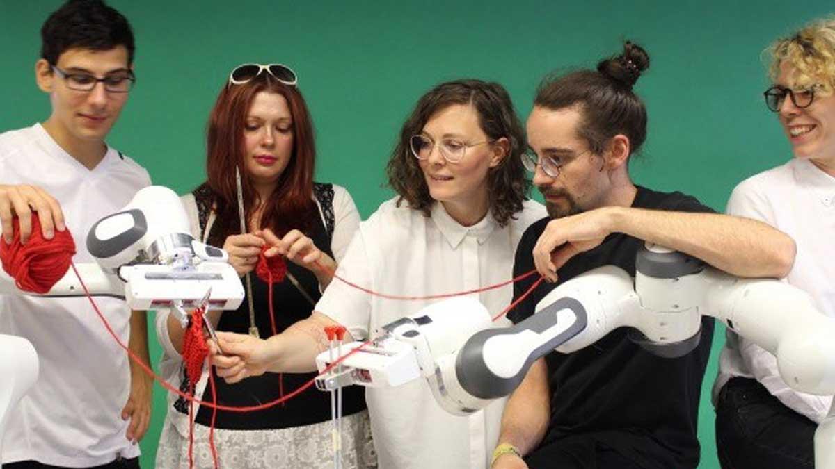Robotic knitting
