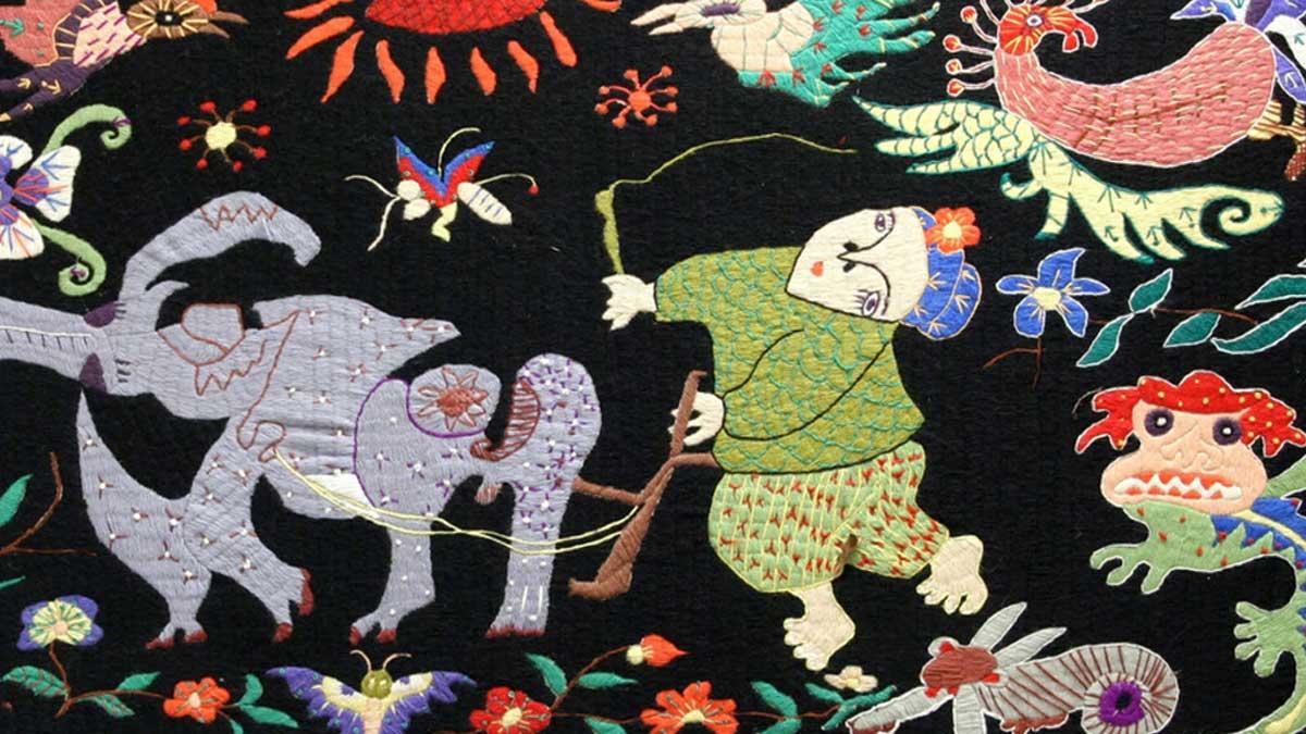 Designerin Wang Lan entführt in die Kultur der chinesischen Miao