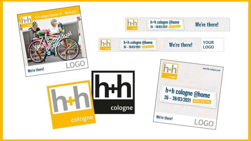 Free advertising material h+h cologne @home