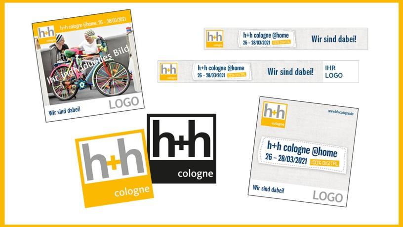 kostenlose Werbemittel h+h cologne @home