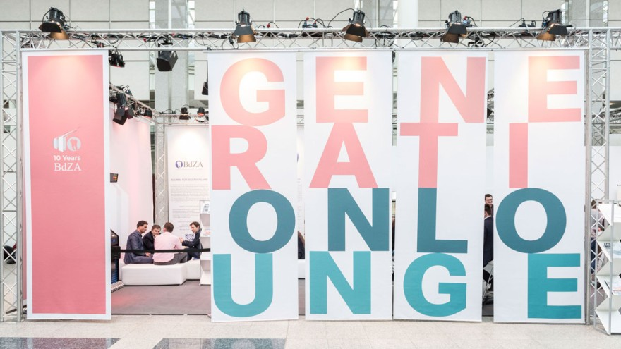 Generation Lounge in der Passage Halle 4/5 auf der IDS.