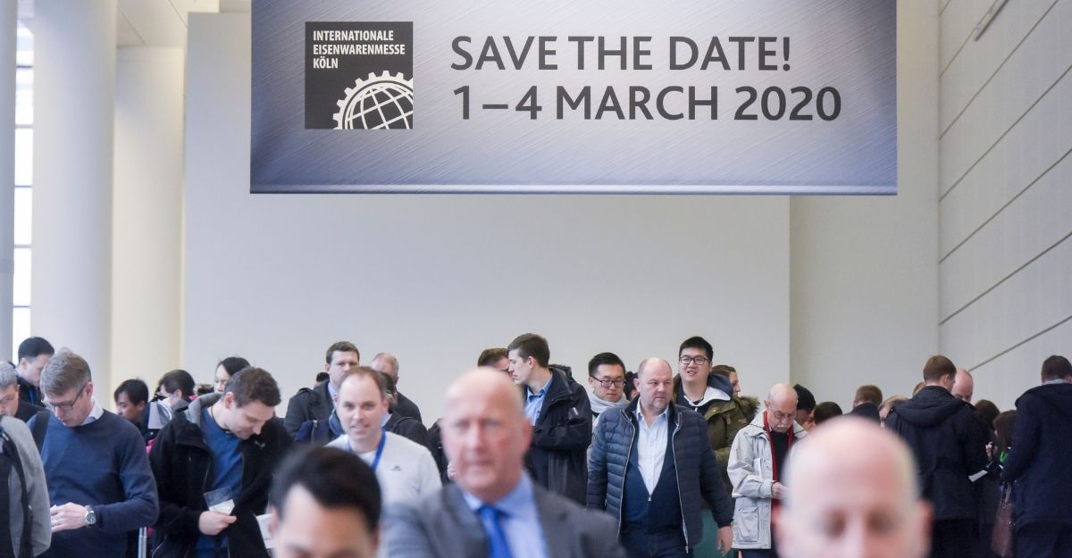 INTERNATIONAL HARDWARE FAIR 2020: Fully booked halls, outstanding exhibitors – secure your ticket now!