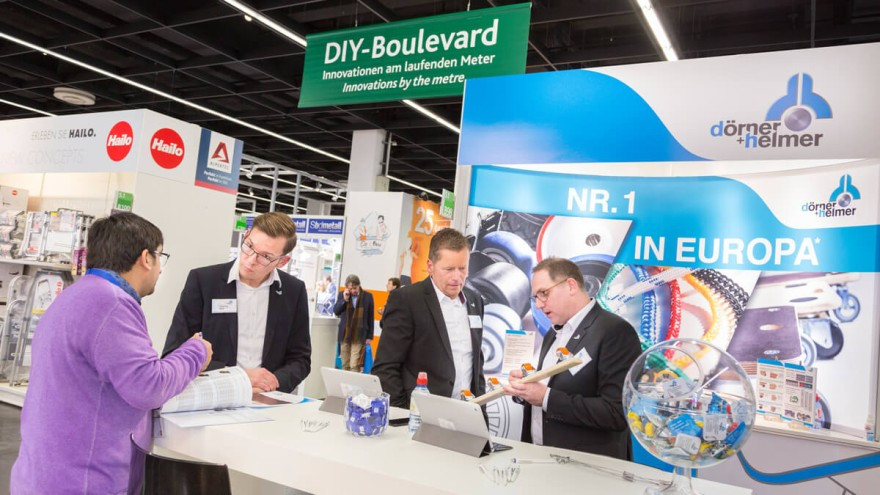 The DIY Boulevard at the INTERNATIONAL HARDWARE FAIR