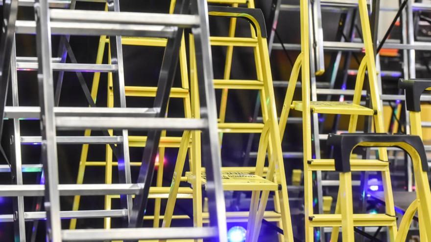 Industriebedarf - Leitern auf der EISENWARENMESSE in Köln