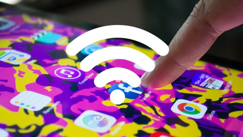 Free WiFI auf der imm cologne