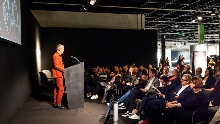 The imm cologne's international programme of talks