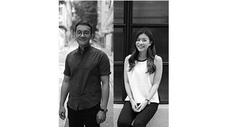 Portrait Whitnie Yvette Lau and Dennis Cheung