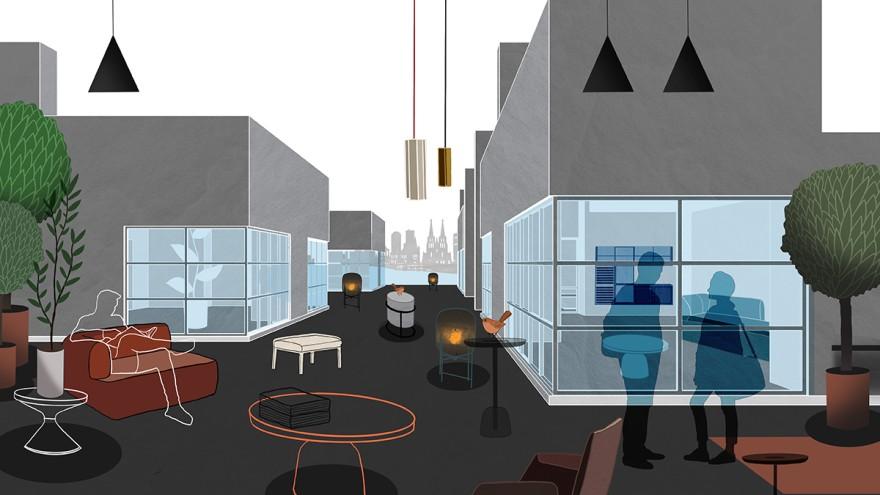 Das Apartment HAUS at imm cologne 2021