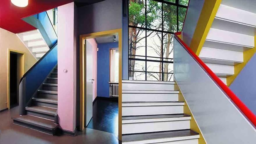 "The ""Meisterhaus"" Paul Klee / Wassily Kandinsky in Dessau."