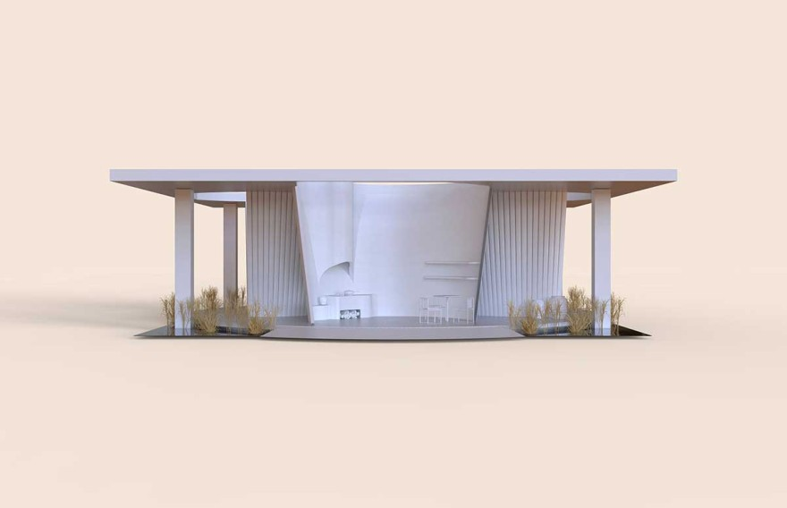 The design of Das Haus at imm cologne 2020