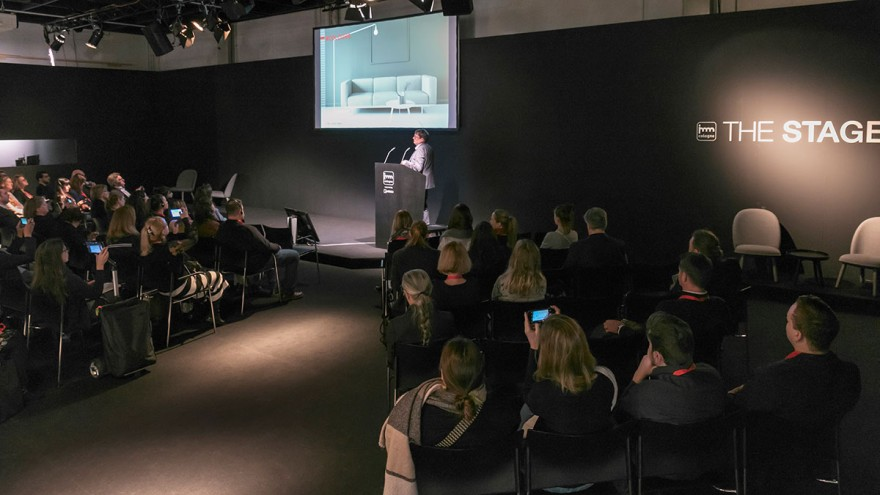 The Stage auf der imm cologne 2020