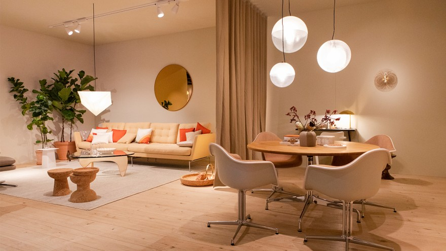 Vitra living room at imm cologne