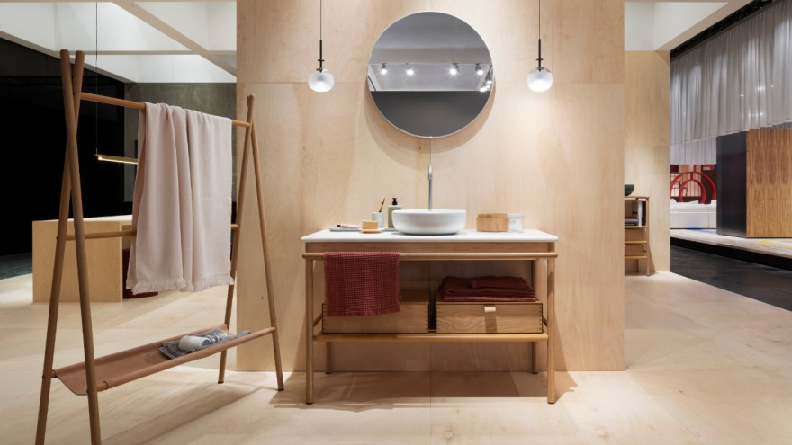Natural materials in design by burgbad