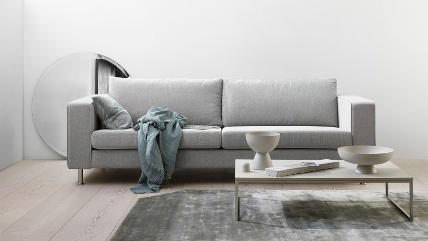 Sofa Indivi by BoConcept fits perfectly into the Japandi style.