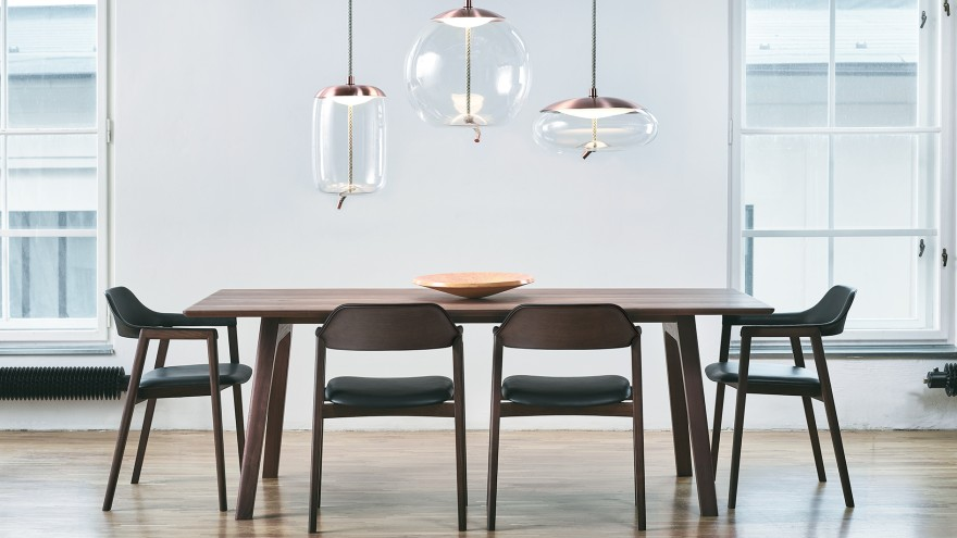 table and chairs by Conde House