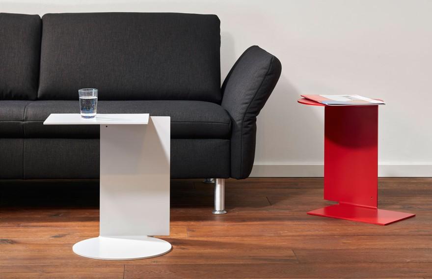 Echtstahl Side Table