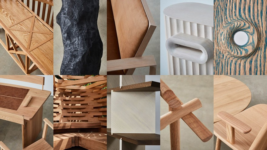 The Legacy Project – an exhibition by the American Hardwood Export Council at imm cologne 2020