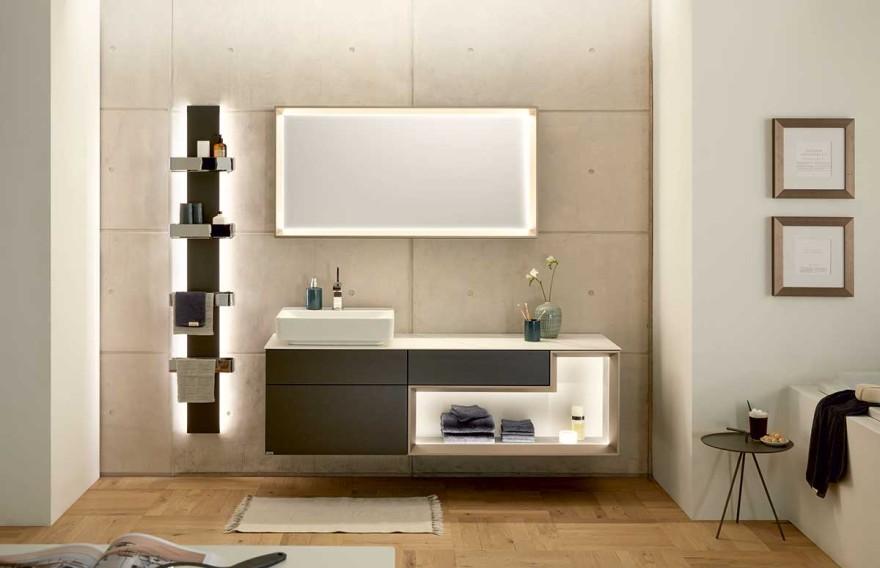 huelsta Badezimmer mit Lichteffekten
