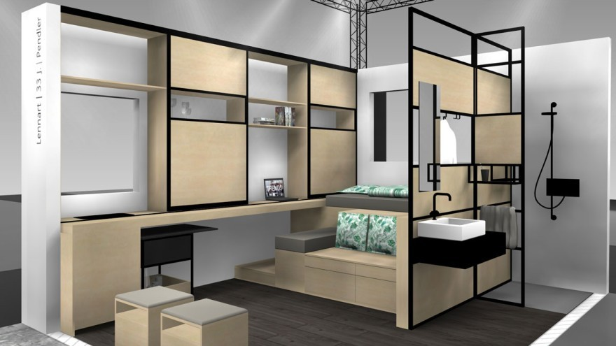 Fully furnished microapartment