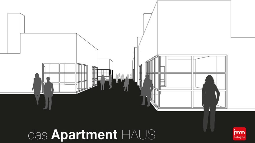 Das Apartment Haus auf der imm cologne 2021