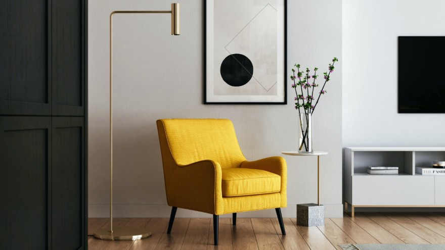 Not only functional. The furnished apartment should be aesthetically pleasing.