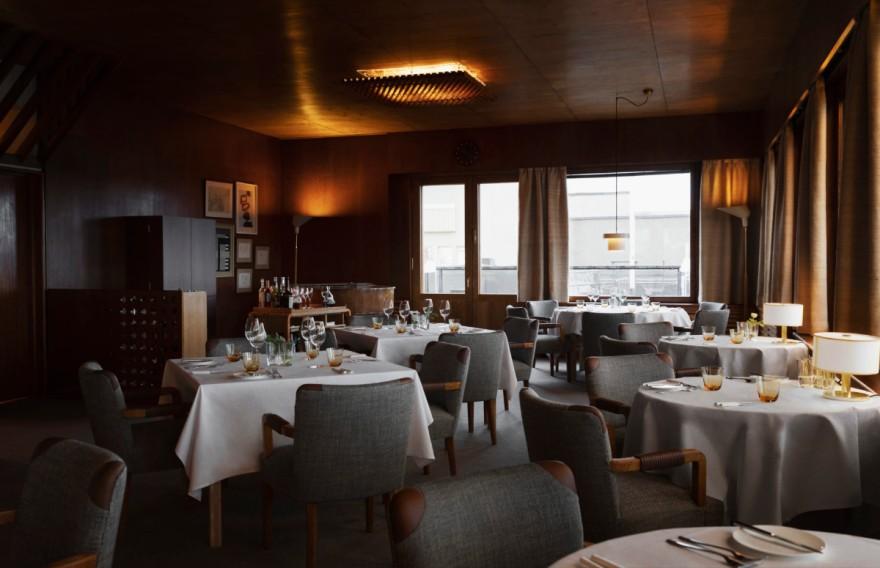 Art-déco-Restaurant Savoy