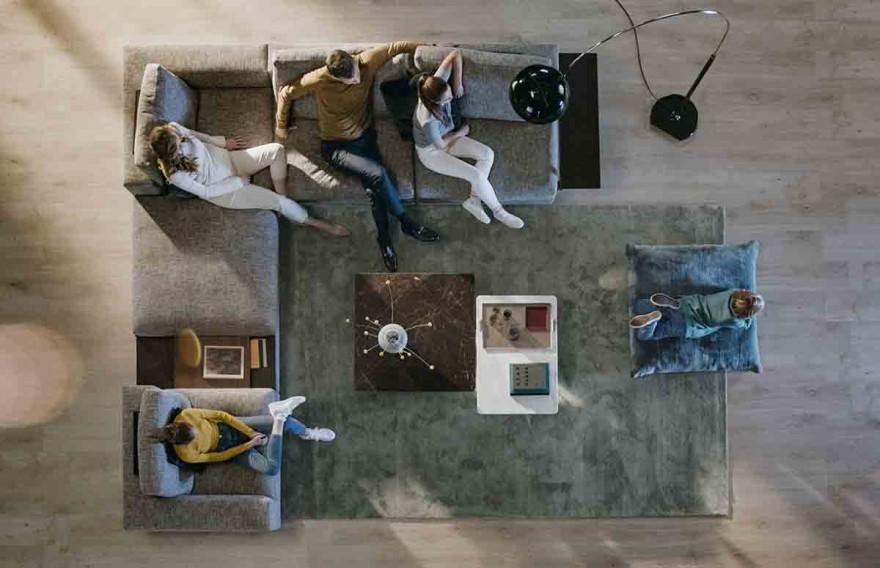 Sofalandschaft Living Landscape 755 von Walter Knoll