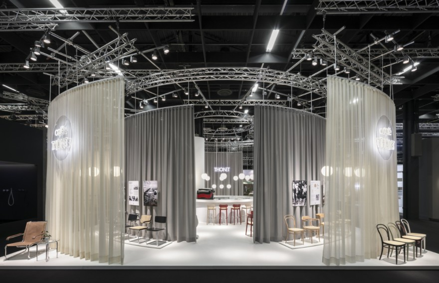 Thonet booth at imm cologne 2019