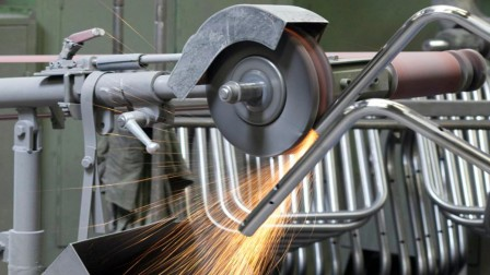 Tubular-steel production at Thonet