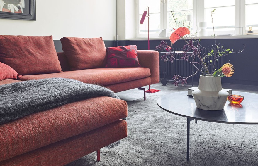 The lounge sofa Mell by COR
