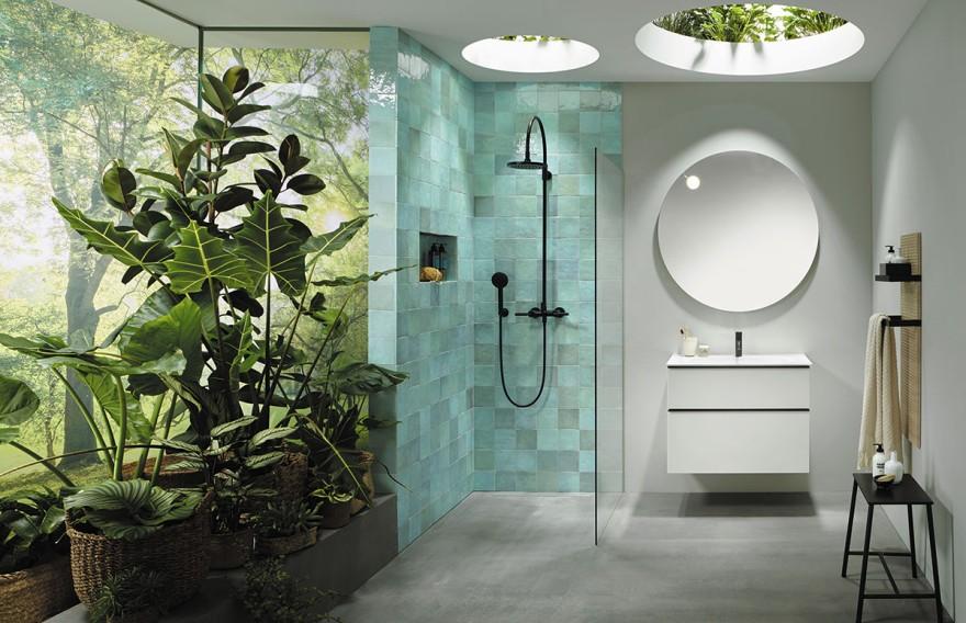 Wohnbadezimmer von burgbad