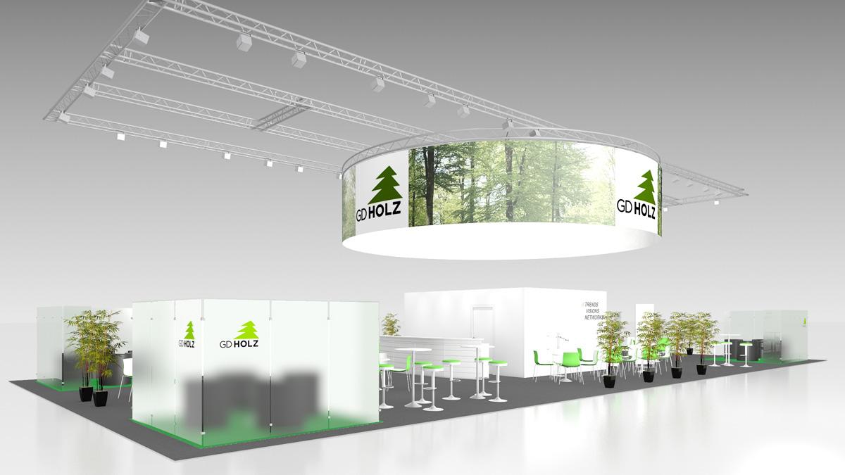 Individual stands (200 m² upwards)