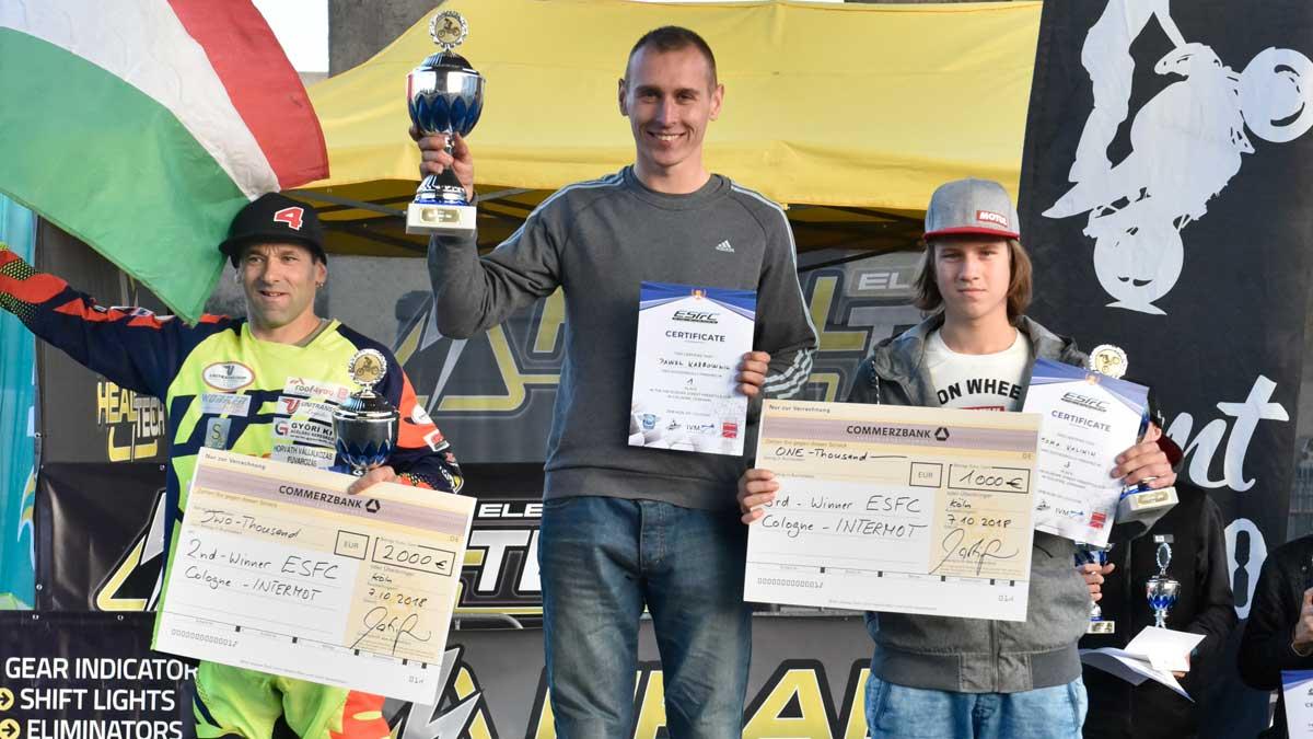 The winner of Eurpean Street Freestyle Cup