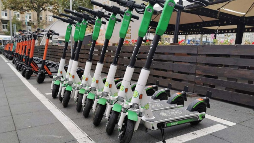 electric pedal scooters