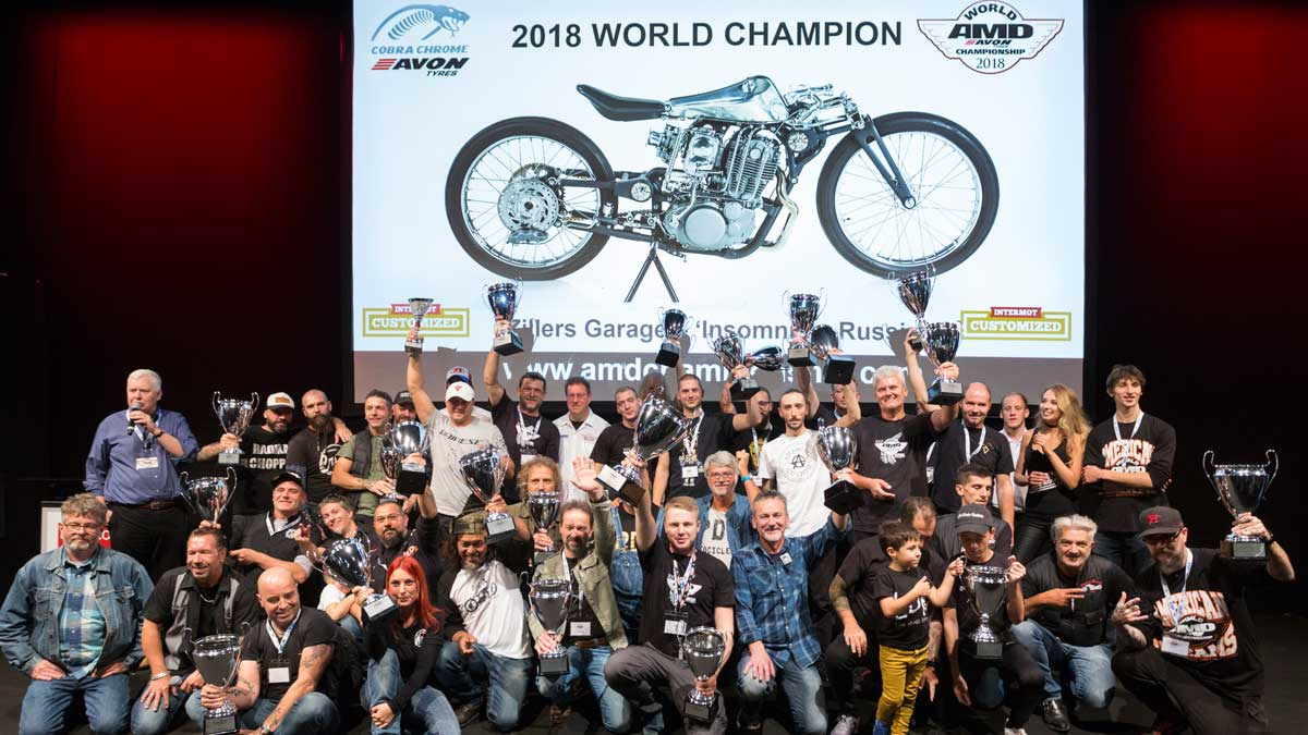 All winners of AMD Championship