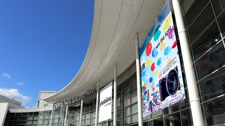 Advertising space at interzum