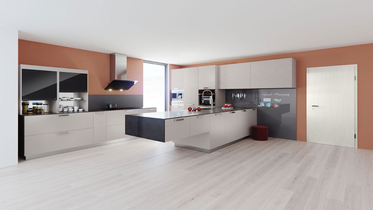 Creative freedom: innovations in kitchen design