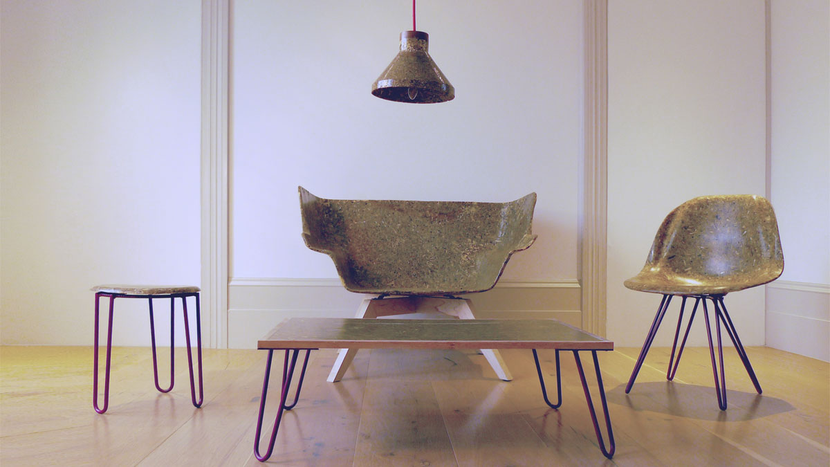 Green furniture trend: chairs made from biomaterials
