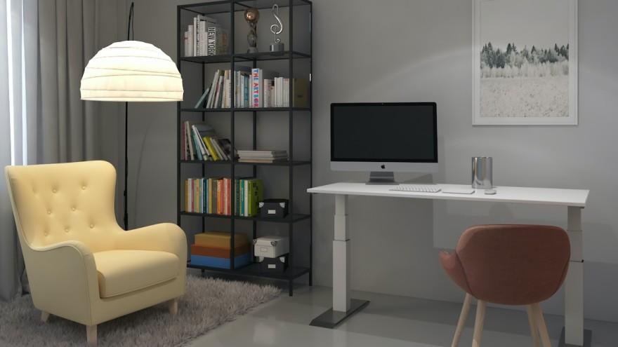 Desk by Hettich
