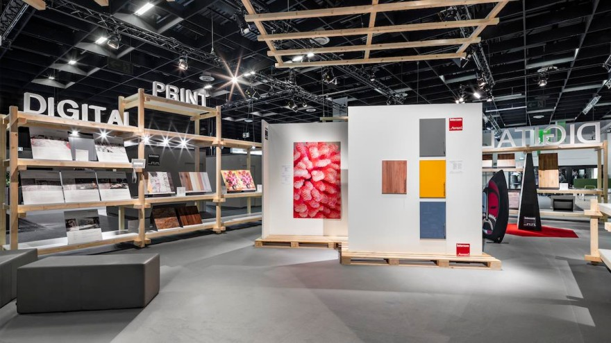 interzum 2019: Special event area Digital Printing