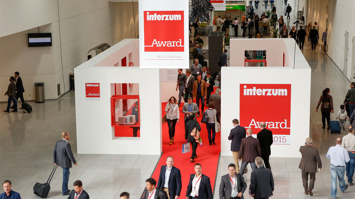 interzum Award 2017: Anmeldephase hat begonnen