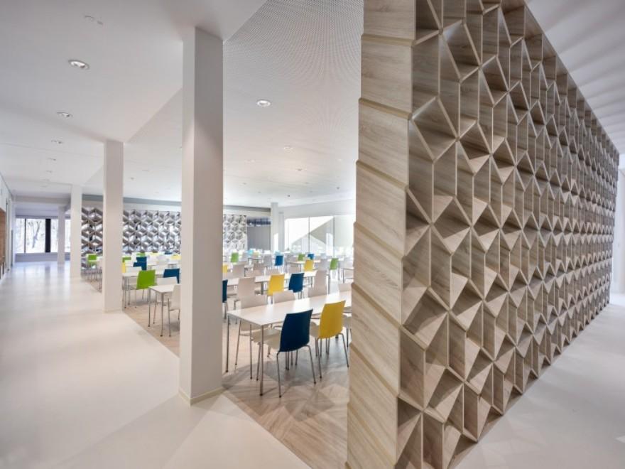kadawittfeldarchitektur: Canteen building at the LWL-Klinik Dortmund (DE) © Andreas Horsky