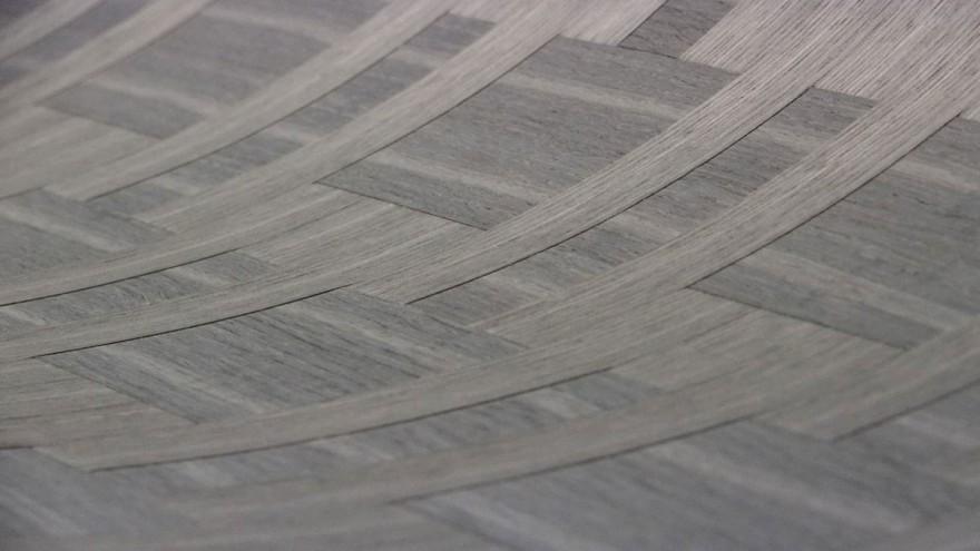 Schorn & Groh plaited veneers are handmade