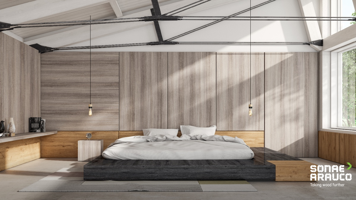 Bedroom by Sonae Arauco